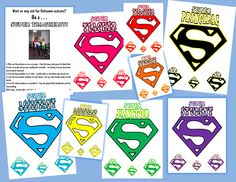 I Want to be a Super Teacher: Halloween, Halloween! Super Teachers, Principals and Janitors!