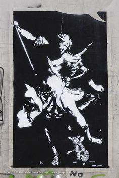 November 14, 2016byglobalstreetart  WALLS IN THE WHITE CITY – A GRAFFITI HISTORY OFBELGRADE  image: LE RAT