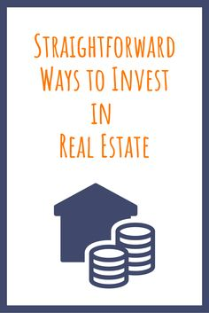 """Real Estate Investing Tips - Three """"Easy"""" Ways to Invest in Real Estate Word Of Advice, Real Estate Investing, Real Estate Marketing, Home Buying, Wise Words, Group, Board, Tips, Easy"""