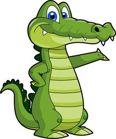 Alligator For Teachers Clipart collection. Here are 10 cliparts. And similar cliparts - Alligator Mouth Clipart, Alligator Mouth Open Clipart. Free Clipart Images, Cute Clipart, Jungle Animals, Baby Animals, Crocodile Illustration, Afrique Art, 1970s Cartoons, Pretty Beach, Clipart Black And White