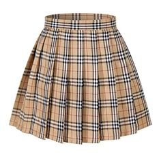 Looking for essential Harajuku, Ulzzang, and J-Fashion pieces that can be easily worked into a variety of looks? The Japanese school uniform plaid mini skirt is a must have! Plaid Pleated Skirt, Plaid Skirts, Stripe Skirt, Teen Fashion Outfits, Trendy Outfits, Plaid Fashion, Fashion Women, Fall Outfits, Cute Skirts
