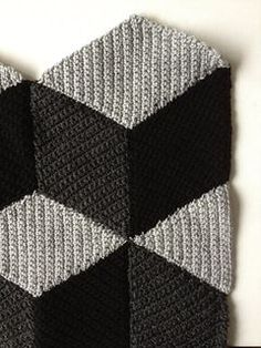 diamond blanket pattern by Jellina Verhoeff