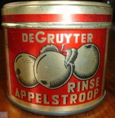 Appelstroop. Producent De Gruyter. Sweet Memories, Childhood Memories, Vintage Tins, Retro Vintage, Tin Containers, Metal Box, Do You Remember, Dutch Recipes, Holland