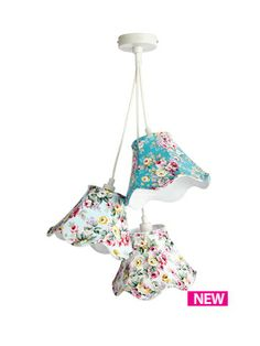 Fearne Cotton 3 Shade Cluster Ceiling Fitting
