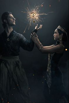 Summer Bishil and Hale Appleman in The Magicians Summer Bishil, The Magicians Syfy, The Magicians Margo, A Discovery Of Witches, Dark Photography, Book Tv, Story Inspiration, Narnia, Mystic
