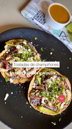 Veggie Recipes, Mexican Food Recipes, Real Food Recipes, Cooking Recipes, Delicious Vegan Recipes, Healthy Recipes, Vegan Roast Dinner, Comida Diy, Healthy Snacks