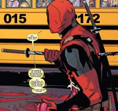 """Hey kids! Sing with me!"" (Deadpool #9, 2015)"