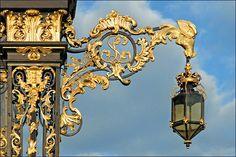 Les ferronneries de la Place Stanislas (Nancy) by dalbera, via Flickr