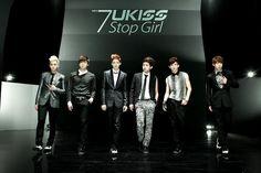 "U-Kiss 20120920 回歸 ""Stop Girl"" 團體概念照"