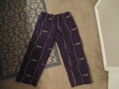 RESERVED for Gopher only - Crown Royal Bag panta -Mardi Gras Costume - Crown Royal Lounge pants -Crown Royal pants Crown Royal Quilt, Crown Royal Bags, Sewing Ideas, Sewing Projects, Crown Crafts, Western Jeans, Mardi Gras Costumes, Bottle Bag, Decor Ideas