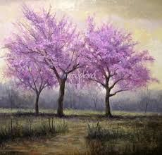 Image result for watercolour paintings of redbud trees