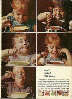 Lipton for Lent! The little boy in the middle has the best expression. Lipton Soup, Lent, Little Boys, Cute Pictures, Middle, Movie Posters, Vintage, Lenten Season, Film Poster