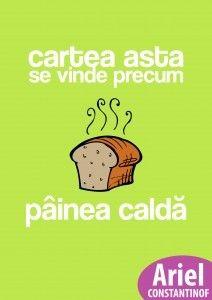 Cartea asta se vinde precum pâinea caldă by Ariel Constantinof on iBooks Viria, Ariel, My Books, Reading, Blog, Fictional Characters, Android, Reading Books, Blogging