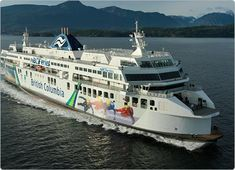 The Coastal Renaissance is another of BC Ferries' three Super C-Class vessels.