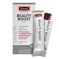 Swisse Ultiboost Beauty Boost Jelly Sticks. #health #fitness #healthylifestyle