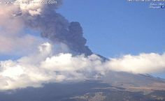 La actividad del coloso fue revelada por el Cenapred y Protección Civil, quienes anunciaron que hoy se registró una explosión de 1 km, acompañada de ceniza en dirección sureste