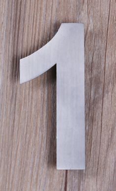 $24.99. The QT Modern House Numbers Collection will make your home stand-out with style. Our Modern House Numbers and Letters are easy to read from a distance. Our numbers and letters are made from the finest 304 Stainless Steel. The brushed steel finish will accent your home.   The mounting kit is made from 304 Stainless Steel so none of the problems from cheaper alternatives snapping. #QThomedecor