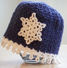 Free Crochet Pattern: Icicles Baby Hat | Make It Crochet