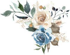 Фото, автор ✿Lili@ ✿ на Яндекс.Фотках Frame Floral, Flower Frame, Flower Art, Wreath Watercolor, Watercolor Flowers, Watercolor Paintings, Small Canvas Paintings, Botanical Illustration, Web Design