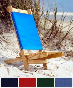 Civil War Design Wood Beach Or Camp Chair By Scottbailey2 On Etsy