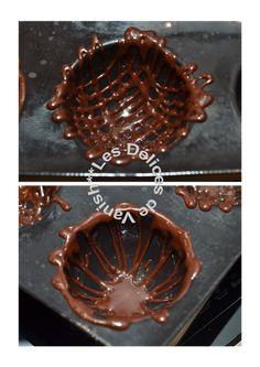 Comment faire une cage en chocolat, coque en chocolat, dans un moule demarle: http://vanishfood.canalblog.com/archives/2013/12/21/28712030.html