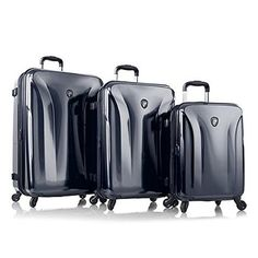 Heys Solara Midnight Blue 3piece Spinner Luggage Set -- More info could be found at the image url.