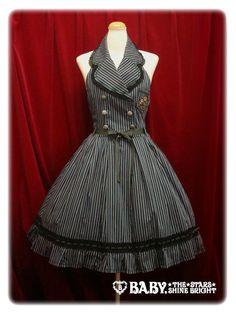 pin stripe dress  AMAZING