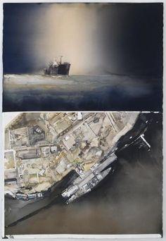 AKVARELLER I URVAL | Sandgrund Lars Lerin Konsthall Watercolor Map, Watercolor Landscape, Inspiring Art, Watercolours, Art Studios, Painting Inspiration, Sketching, Museum, Paintings