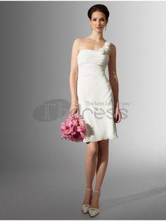 Abiti da Sposa Corti-Senza spalline estate lunghezza abiti da sposa corti