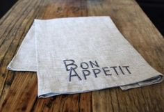 Loving Bon Appetit Napkins...#Pom Pom Interiors