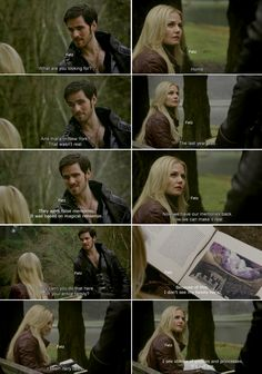 "Hook: ""What are you looking for?"" Emma: ""Home""  - ""Snow Drift"" - 3*21, #CaptainSwan"