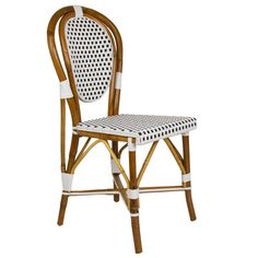 French Bistro Chair | $235 Our Most Popular Chair! These Armless Rattan Framed  Dining