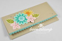 STAMPIN' UP! born2stamp Gutschein Flower Patch