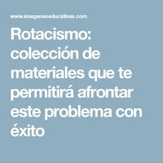 Rotacismo: colección de materiales que te permitirá afrontar este problema con éxito Speech Therapy, Preschool, Language, Bath Salts, Ideas Para, Speech Pathology, Learning, Dyslexia, Speech Therapy Activities