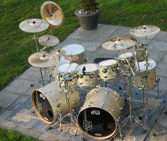 Double kick extra cymbals
