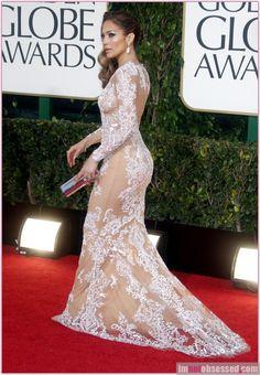 Jennifer Lopez at the Golden Globe Awards 2013