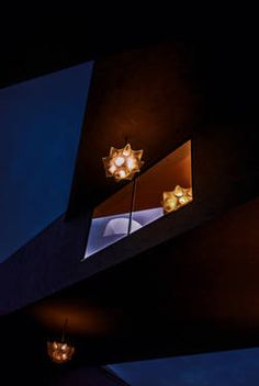 In the deconstructivistic architecture the lamps and lights are playing their own performance. Selling Art Online, Modern Architecture, Saatchi Art, Original Artwork, Wall Lights, Sculpture, Drawings, Artist, Lamps