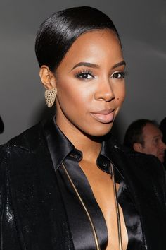 39 Trendy Ideas For Wedding Hairstyles For Black Women Natural Kelly Rowland Bridal Makeup, Wedding Makeup, Makeup Emoji, Afro, Bronze Skin, Thing 1, Girls Makeup, Black Women Hairstyles, American Hairstyles