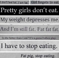 YOU ARE NOT FAT!