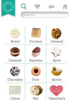 thumbnails on Martha Stewart Makes Cookies