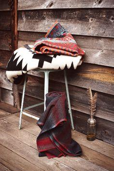 Love rustic blankets