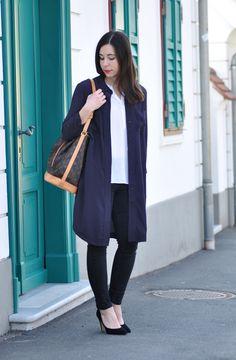 Outfit Fashionblog Österreich mit Michael Kors Uhr in Rosegold und Louis Vuitton Noe