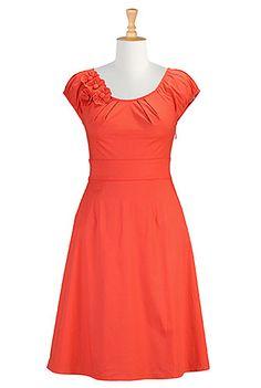 I <3 this Felicity dress from eShakti