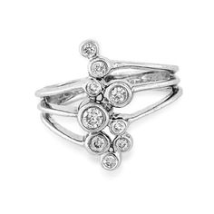 0.25ct tw Contemporary Right Hand Diamond Ring Set in 14k Gold - Listing price: $2,250.00 Now: $506.25