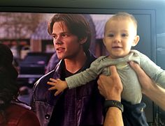 "Gens' tweet this morning: ""Dean meet your son Shep."" Haha!! This is so cute :)"