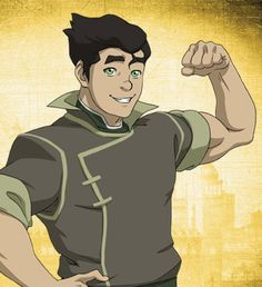 The Legend Of Korra, 1-3: The Revelation | Mako: Bolin, you alright? / Bolin: Yes! Mako! I love you!