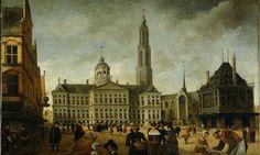 Als je naar het schilderij in #020today kijkt had de toren van de Nieuwe Kerk dit weekend niet misstaan op de Open Toren Dag. Het liep echter anders. - Google+