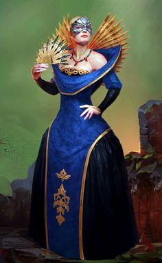 Empress Celene - Promotional art for Heroes of Dragon Age.