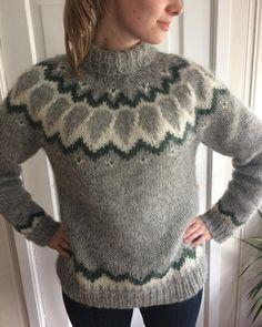 Min første genser!