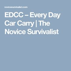 Its my version of a EDC bag.(Every Day Carry). I … Source: EDCC - Every Day Car Carry Edc Bag, Survival Hacks, Camping Stuff, Everyday Carry, Carry On, Channel, Videos, Hand Luggage, Carry On Luggage